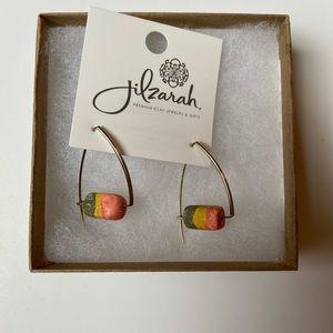NWT Clay Rainbow Earrings